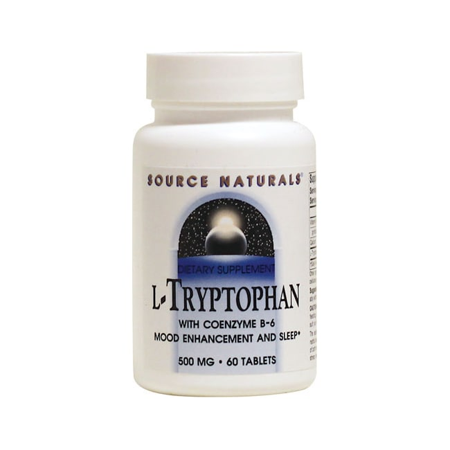 Source Naturals L-Tryptophan with Coenzyme B-6