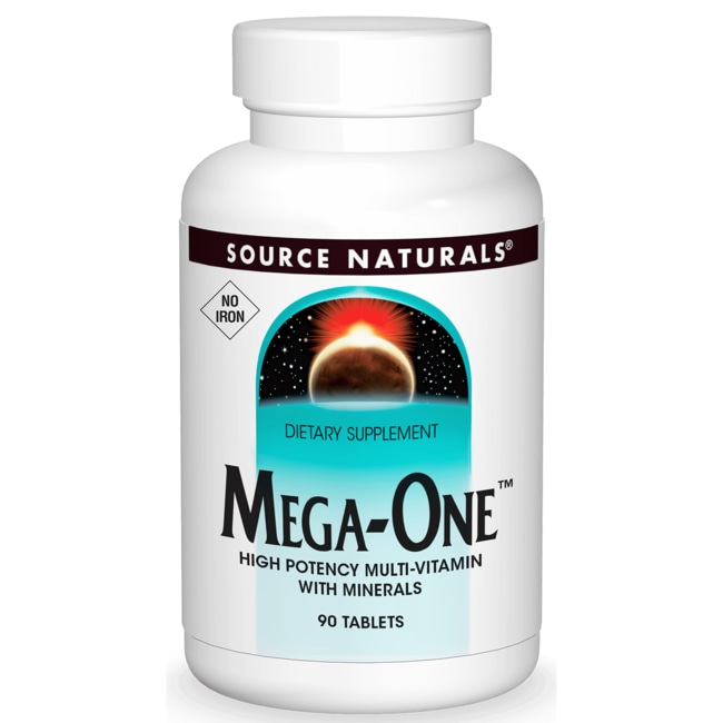 Source Naturals Mega-One No Iron