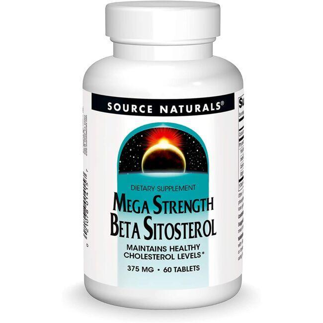 Source NaturalsMega Strength Beta Sitosterol