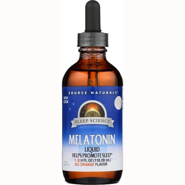 Source Naturals Melatonin Liquid