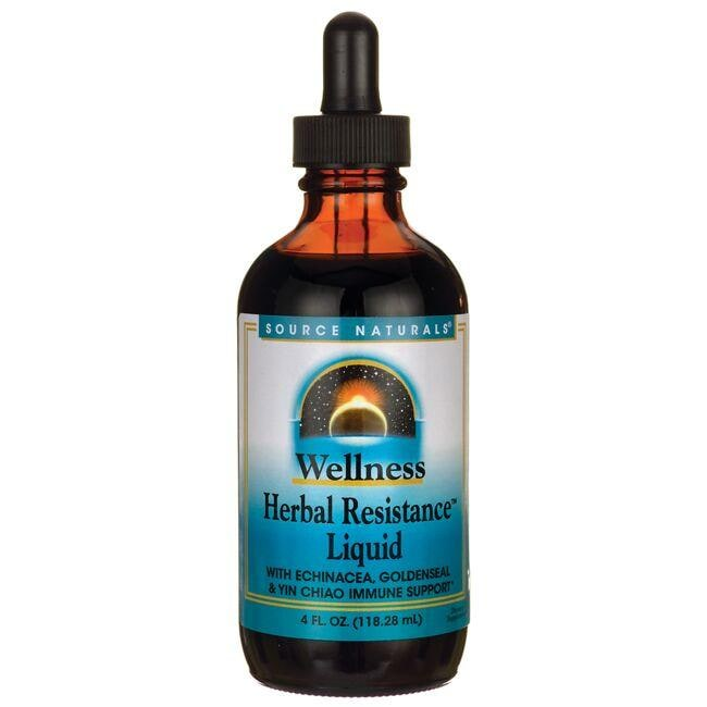 Source NaturalsWellness Herbal Resistance Liquid