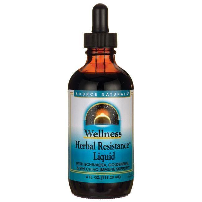 Source NaturalsWellness Herbal Resistance Liquid