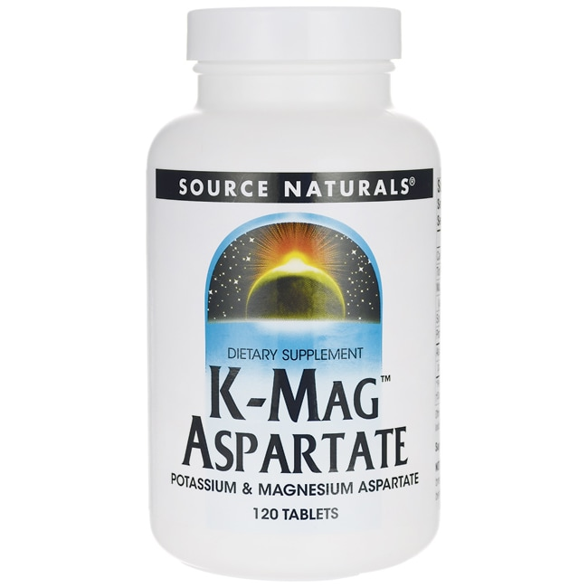 Source NaturalsK-Mag Aspartate