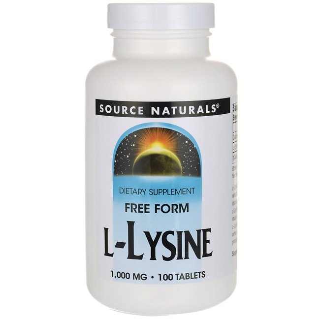Source NaturalsL-Lysine