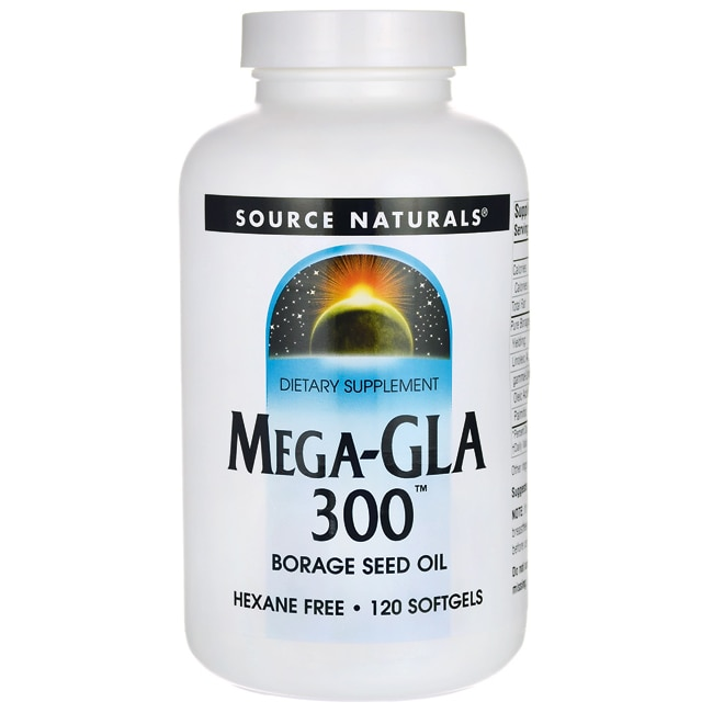 Source NaturalsMega-GLA 300 Borage Seed Oil