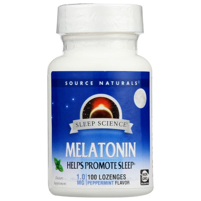 Source NaturalsMelatonin - Peppermint