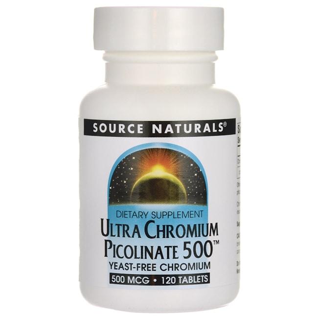Source NaturalsUltra Chromium Picolinate 500