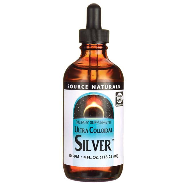 Source Naturals Ultra Colloidal Silver 10ppm