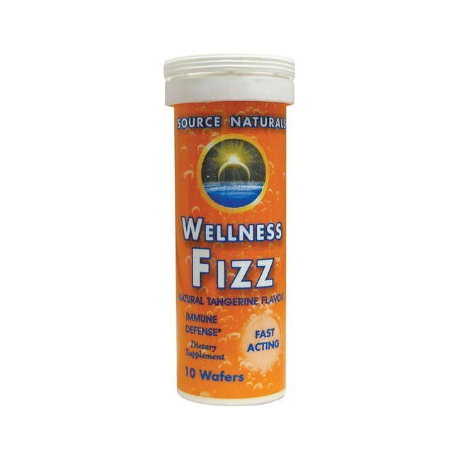 Source NaturalsWellness Fizz Natural Tangerine Flavor