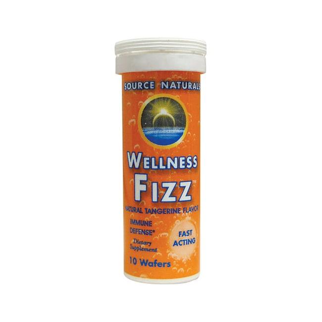 Source Naturals Wellness Fizz Natural Tangerine Flavor