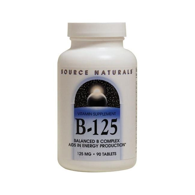 Source NaturalsB-125