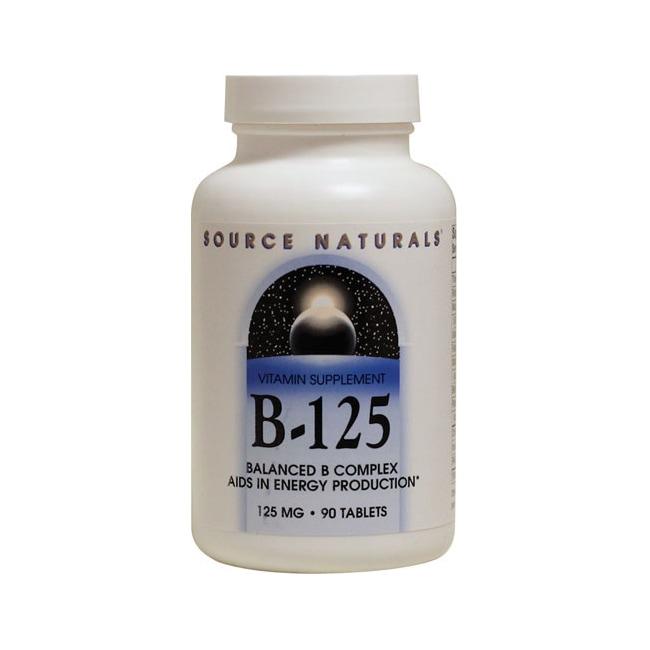 Source NaturalsB-125