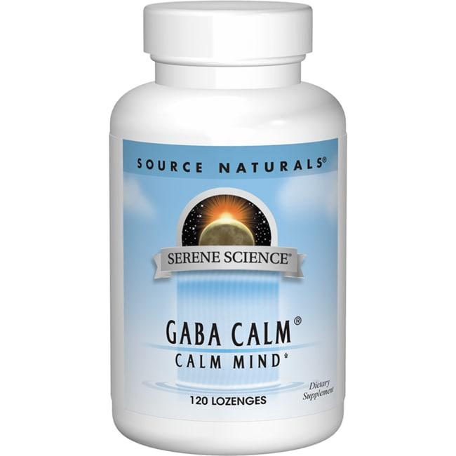 Source Naturals Serene Science GABA Calm Peppermint Flavor