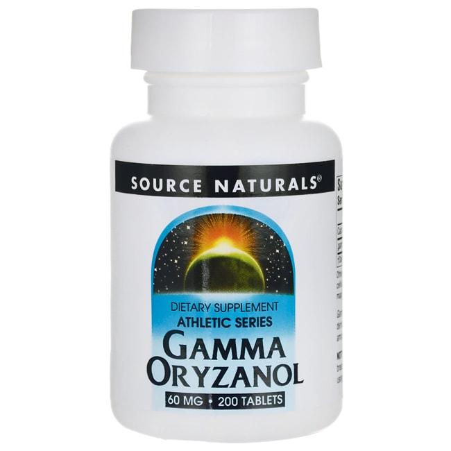 Source NaturalsGamma Oryzanol