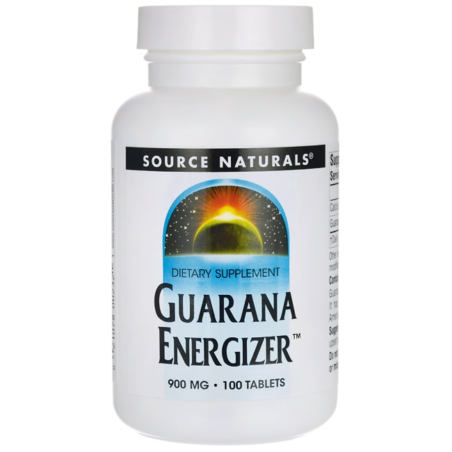 Source Naturals Guarana Energizer