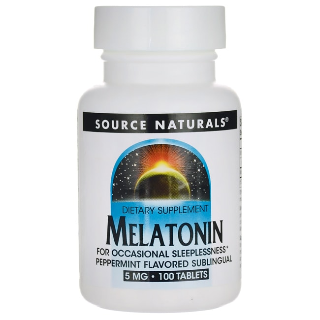 Source Naturals Melatonin Peppermint