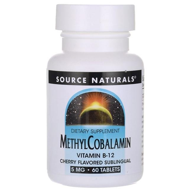 Source Naturals MethylCobalamin Cherry
