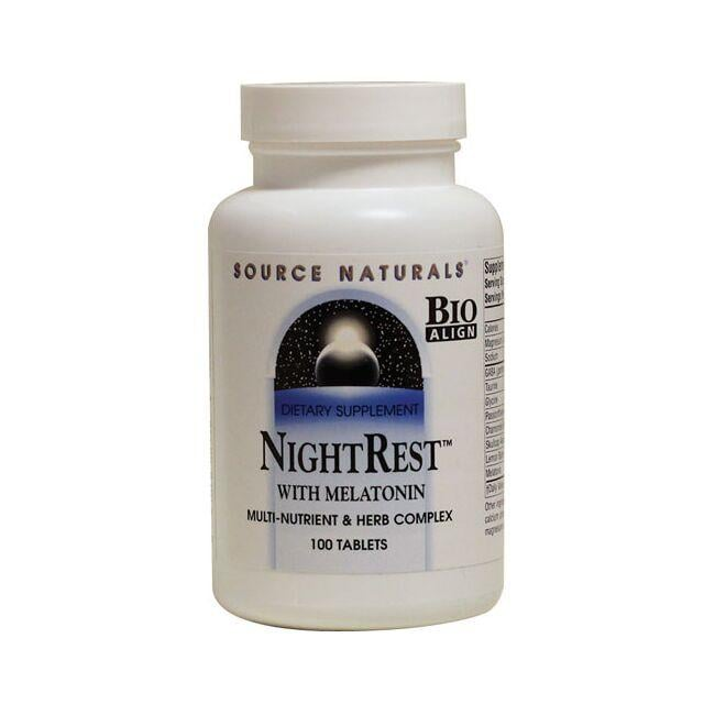 Source Naturals NightRest with Melatonin