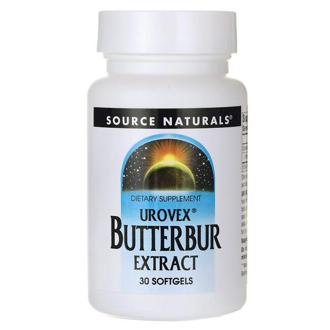 Source NaturalsUrovex Butterbur Extract