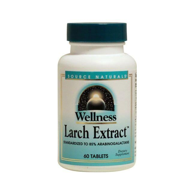 Source NaturalsWellness Larch Extract