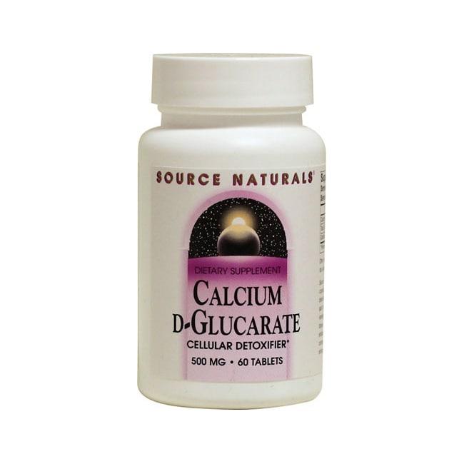 Source Naturals Calcium D-Glucarate