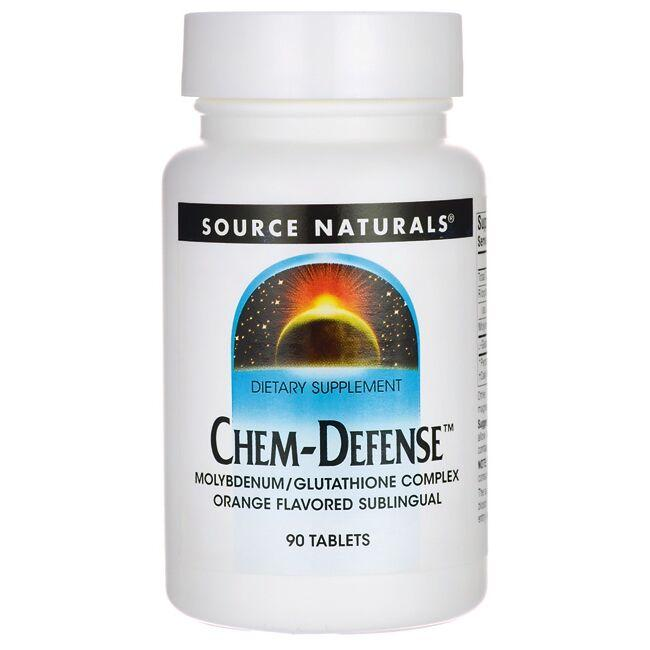 Source NaturalsChem-Defense Orange Flavored
