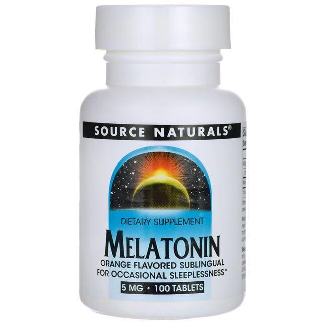 Source NaturalsMelatonin Orange