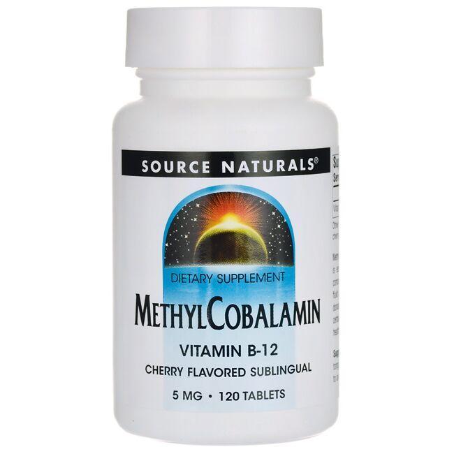 Source NaturalsMethylCobalamin Vitamin B-12 Cherry Flavored