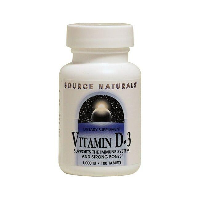 Source NaturalsVitamin D-3
