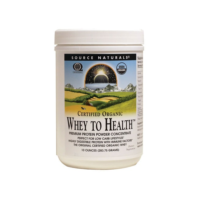 Source Naturals Whey to Health Certified Organic Protein Powder