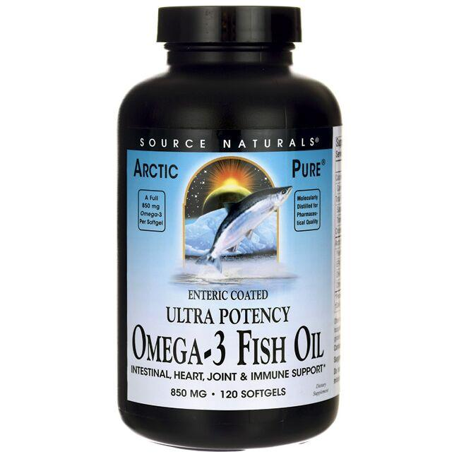 Source NaturalsArcticPure Enteric Coated Ultra Potency Omega-3 Fish Oil