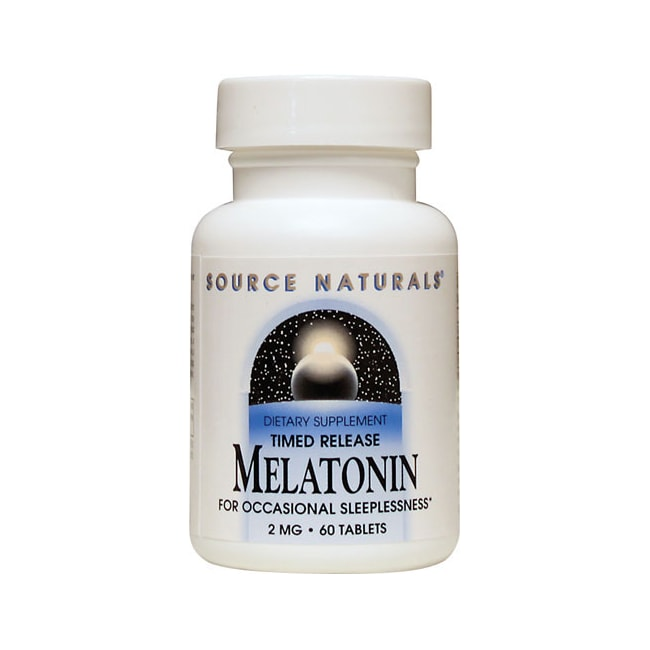 Source NaturalsMelatonin Timed Release