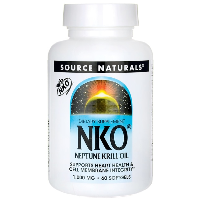 Source naturals krill oil