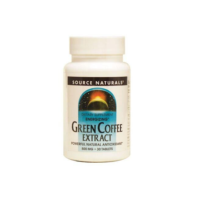 Source Naturals Green Coffee Extract - Energizing