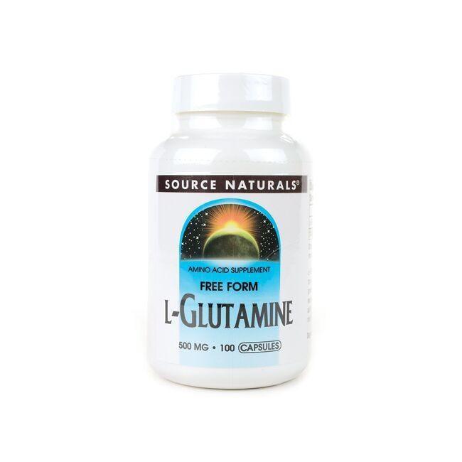 Source NaturalsFree Form L-Glutamine