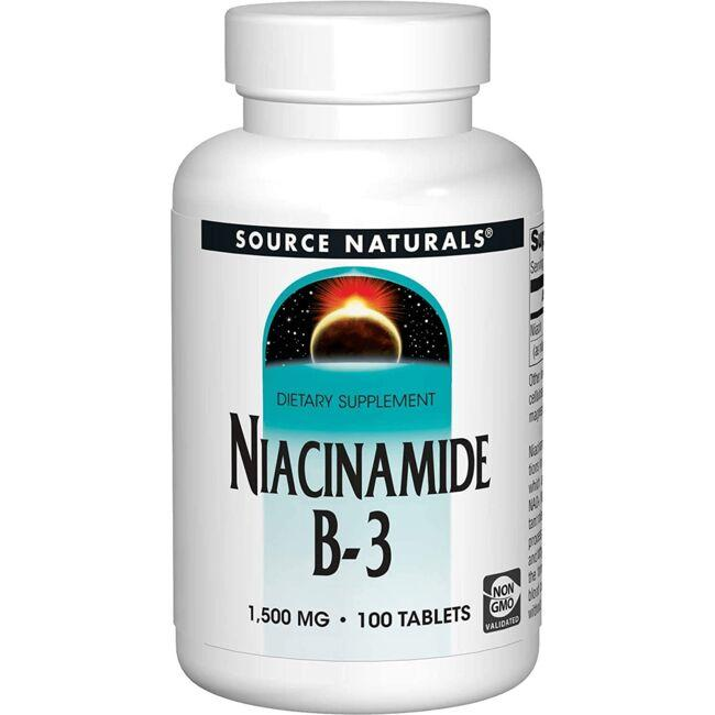 Source NaturalsNiacinamide Timed Release