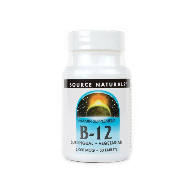 Source NaturalsB-12 Sublingual
