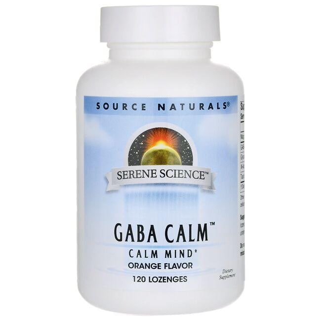 Source Naturals Serene Science GABA Calm Orange Flavor