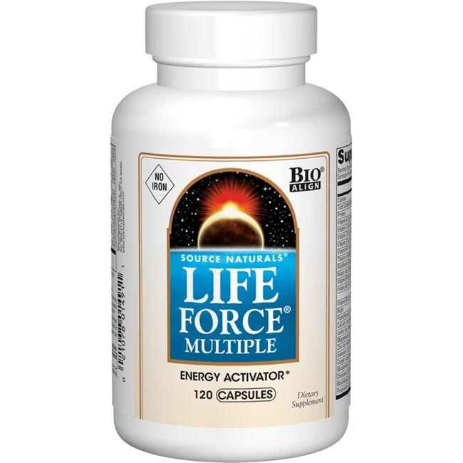 Source Naturals Life Force Multiple - No Iron