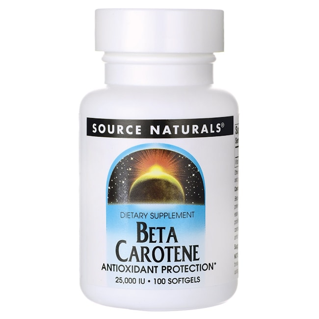 Source NaturalsBeta Carotene