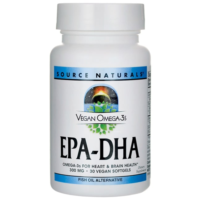 Source Naturals Vegan Omega-3s EPA-DHA
