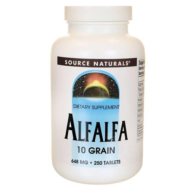 Source NaturalsAlfalfa 10 Grain