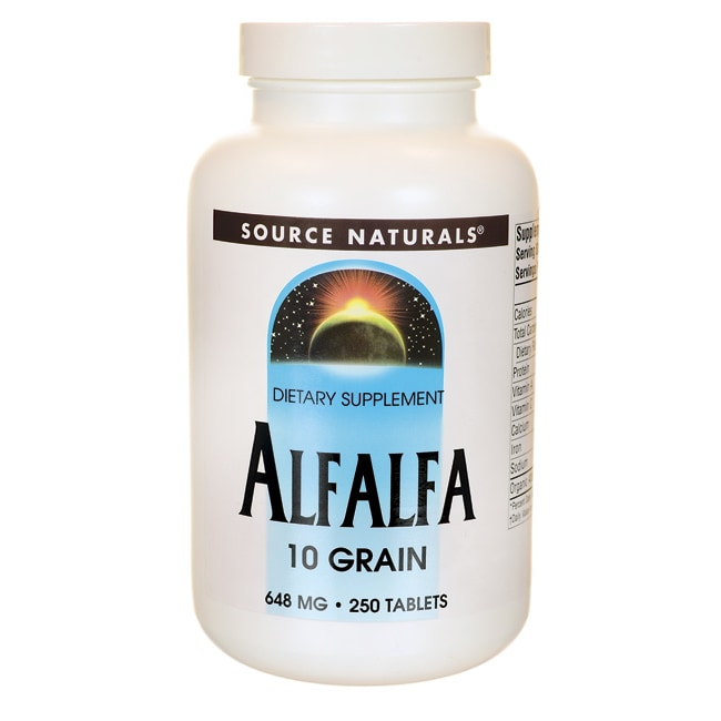 Source NaturalsAlfalfa 10 Grain