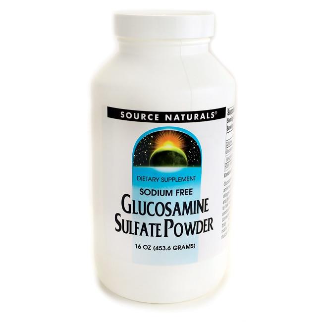 Source Naturals Glucosamine Sulfate Powder
