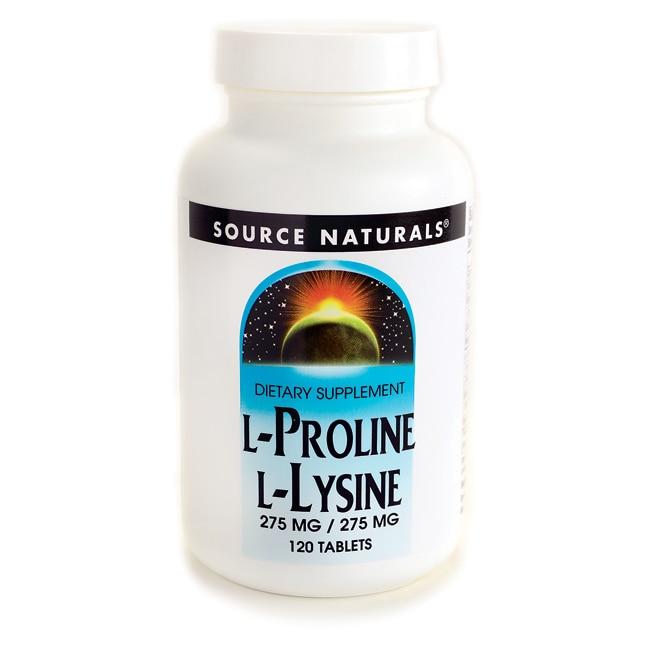 Source Naturals L-Lysine L-Proline
