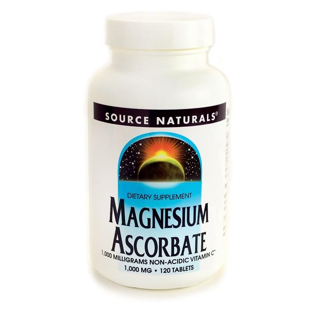 Source NaturalsMagnesium Ascorbate