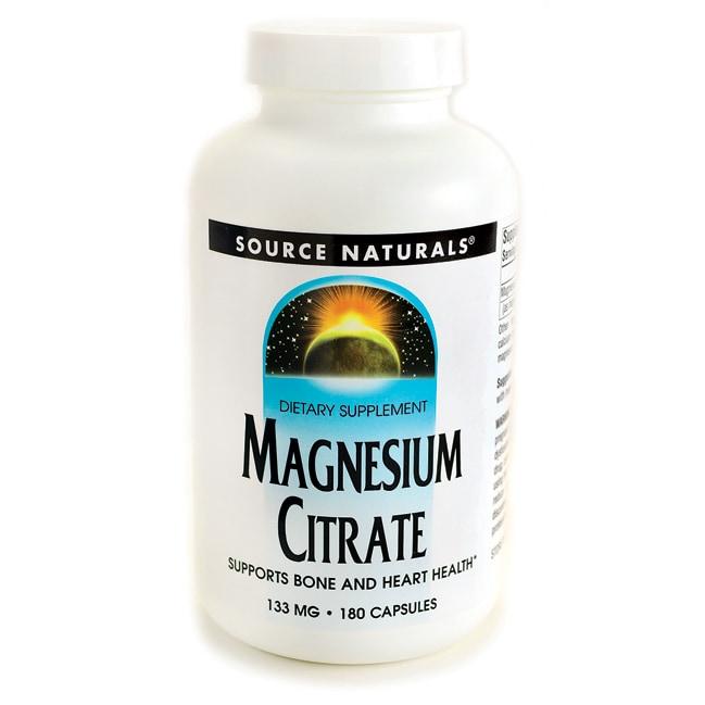 Source NaturalsMagnesium Citrate