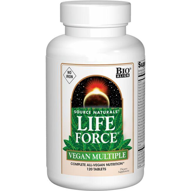 Source NaturalsLife Force Vegan Multiple No Iron
