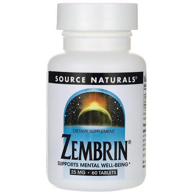 Source NaturalsZembrin