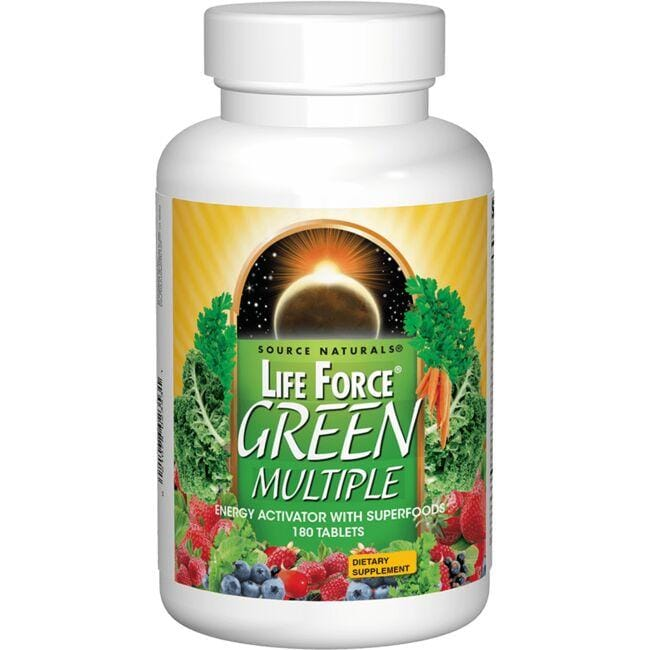 Source NaturalsLife Force Green Multiple